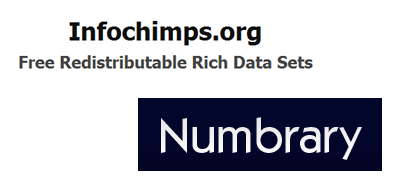 Infochimps and Numbrary Logos